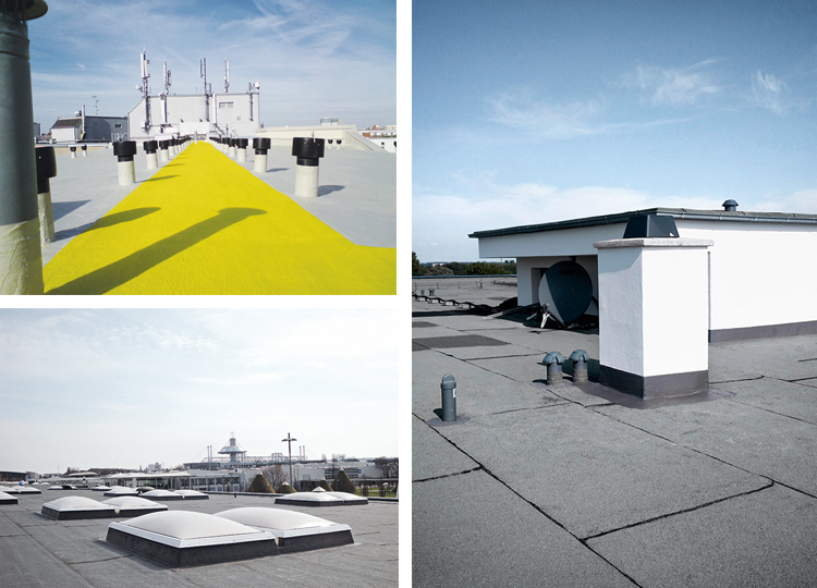 Long-lasting roof waterproofing with Triflex system solutions