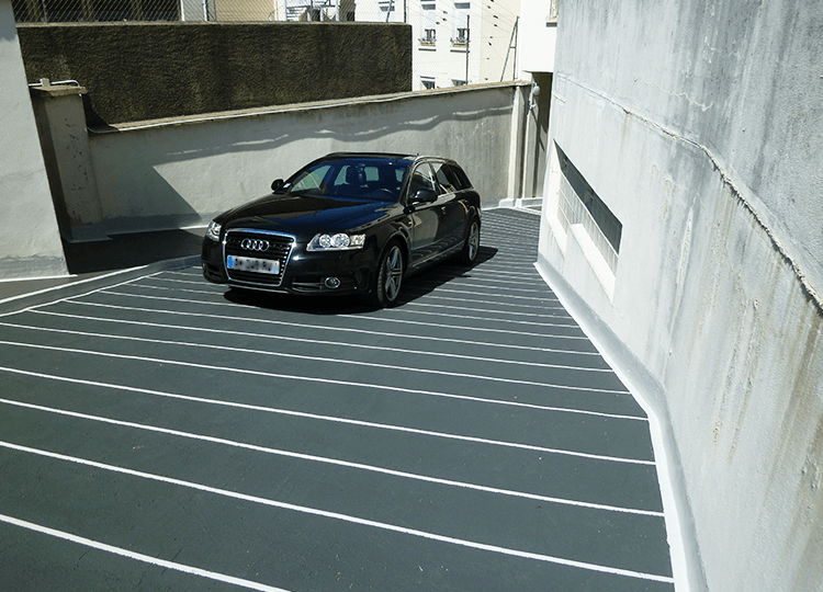 Rampe de parking, Versailles